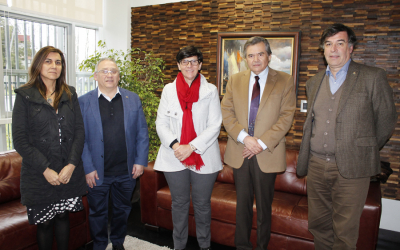 Secretary General of the Association for Dental Education in Europe visited the UFRO
