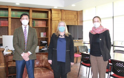 Representatives of UFRO and the U.S. Embassy in Chile met to strengthen collaborative ties