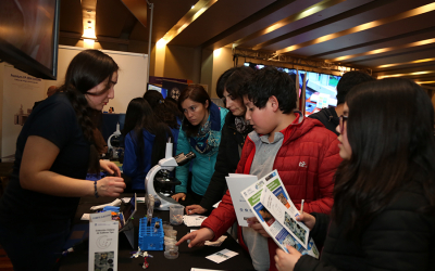 Researchers share their passion for science with the community at UFRO Research Exhibition